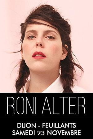 Roni Alter – samedi 23 novembre 2019 – Théâtre des Feuillants – Dijon